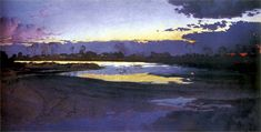 The Vistula River (Józef Mehoffer - 1894)