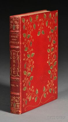 Odes and Epodes Horace, Boston: Bibliophile Society, 1901,