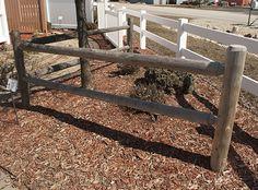 Best 2 Rail Round Rail Post And Rail Fence Wood Fence Wood 400 x 300