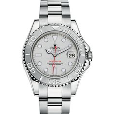 Rolex - Oyster Perpetual Yacht-Master 40 - Self-winding, p., date - combination of steel and platinum, dark rhodium dial Fine Watches, Cool Watches, Rolex Watches, Watches For Men, Boat Brands, Swiss Luxury Watches, Custom Design Shoes, Rolex Oyster Perpetual, Beautiful Watches