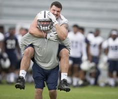 Penn State Football: Christian Hackenberg And Austin Johnson...: Penn State Football: Christian Hackenberg And Austin… #PennStateFootball