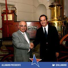 Andrés se reunió con el presidente de Bomberos de Chile, Miguel Reyes, con el objetivo de conocer las principales necesidades de esta institución, convirtiéndose en el primer Candidato Presidencial que concreta una cita con el ente rector de esta organización.