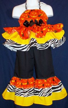CUSTOM NATiONAL HaLLOWeeN PaGEANT CaSuAL WeAR 2T 3T