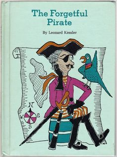 Vintage Children's Book ~ THE FORGETFUL PIRATE by Leonard Kessler REVIEW COPY