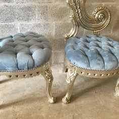 Italian Baroque Throne Chair High Back Reproduction Tall Tufted Chair French Furniture French Chair Rococo Furniture Interior Design Drop Dead Gorgeous, Beautiful, Rococo Furniture, Throne Chair, Italian Baroque, Interiores Design, Ottoman, Interior Decorating, Bedroom Decor