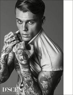 Stephen James for D'SCENE magazine @stephen_james_hendry Instagram