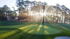 Sunday prep for the 2012 Masters Augusta - Increíble campo de golf, unir dos pasiones Paisaje + Golf!