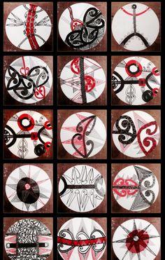 The Galaxy Sequence. Works from IOIOIOIOIOIO. XXTT Glass Bead Game, Polynesian Art, New Zealand Art, Jr Art, Maori Art, Kiwiana, Circle Pattern, Your Turn, Native Art