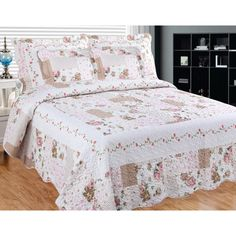 Camellia Main 3-piece Quilt Set