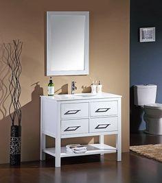 Toronto Modern Bathroom Vanity MK7481636 - Tanyas Furniture & Bath Gallery