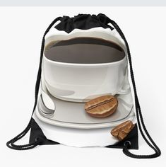 Coffee string bag to add to your fashion, click on the link for more colors, styles and designs. Order yours now. ♥