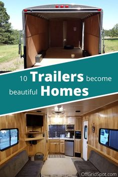 Check out the best Cargo Trailer Conversion examples you'll find online. Get ideas on how to build your camper, plan your next adventure Converted Cargo Trailer, Cargo Trailer Camper Conversion, Toy Hauler Camper, Car Hauler Trailer, Camper Van Conversion Diy, Teardrop Camper Trailer, Camper Trailers, Travel Trailers, Best Trailers