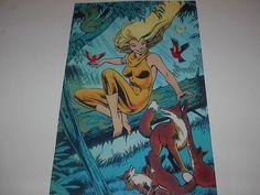 Marvel Heroes Excalibur Meggan Poster Pin Up L K | eBay