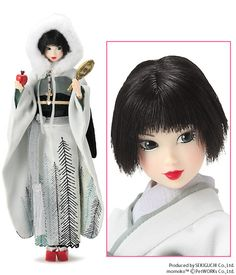 She's a little Japanese snow white!