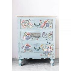 Decoupage Furniture, Paint Furniture, Upcycled Furniture, Shabby Chic Furniture, Furniture Makeover, Furniture Design, Modern Furniture, Muebles Shabby Chic, Rub On Transfers
