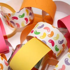 Candy Shop Party paper chain kit