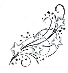 Another star tatoo idea...GORGEOUS! -maybe in the Orion constellation though