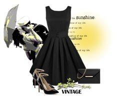"""""""Modern Vintage"""" by erina-i ❤ liked on Polyvore featuring MICHAEL Michael Kors, modern and vintage"""