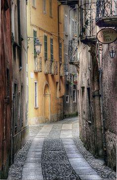 Island of San Giulio. Italy, province of Novarra  region of Piemonte  , Italy.