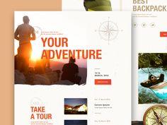 WorldTravel – Landing Page by Outcrowd Site Design, Ux Design, Web Design Inspiration, Creative Inspiration, Creative Portfolio, World Traveler, Lorem Ipsum, Landing, Website