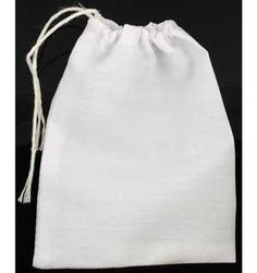"""Forming the perfect, neutral basis for your magic, a white cloth bag can be used to contain your magical amulets and charms during the creation of a gris-gris bag, a mojo bag, or any other such ritual craft. It is particularly useful in the creation of such bags intended for healing arts.   Each bag is approximately 3"""" wide by 4"""" long. $1.50"""