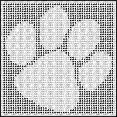 Crochet cat graph gatos new Ideas Doily Patterns, Afghan Crochet Patterns, Crochet Stitches, Knitting Patterns, Crochet Afghans, Crochet Blankets, Gato Crochet, Filet Crochet, Irish Crochet