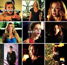 """She'll make a fool of you all."" #Arrow"