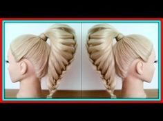 2STRAND WOVEN BRAID HAIRSTYLE / HairGlamour Styles / Hairstyles / Hair Tutorial - YouTube