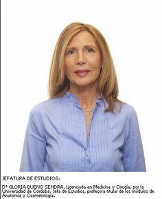 Gloria Bueno. Jefatura de Estudios
