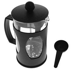 JustNile French Press Coffee Maker - 20 oz. Basic Black -- Check out this great article. #CoffeeMakers