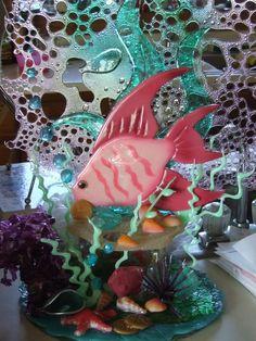 Pulled Sugar Fish Sculpture   Sugar Showpiece Photos   Sugar Art How-To   Sugar Crafts & Sculpture ...