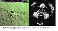 crop circles made by sound and infrasound