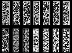 The vector file 'Swirl Floral Vector Pack Free Vector' is a Coreldraw cdr ( .cdr ) file type, size is. Laser Cut Box, Laser Cut Panels, Laser Cutting, Gate Design, Bed Design, Door Design, Calligraphy Borders, Islamic Calligraphy, Jaali Design