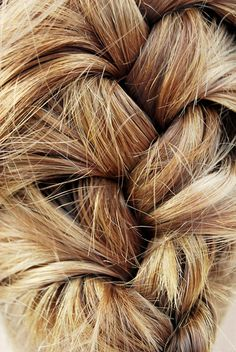 Cool French Braid - this is how it looks when I do it - must be because I'm a lefty!