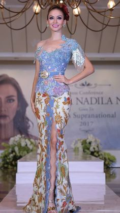 Kebaya Dress, Formal Dresses, Fashion Design, Outfits, School, Women, Style, Dresses For Formal, Swag