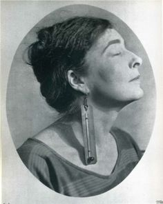 Mina Loy, photo by Man Ray Mina Gertrude Löwry (1882 -1966), British artist, poet