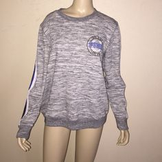 LIMITED EDITION! Leather arms brand new PINK Victoria's Secret Sweaters