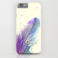 """Feather"" Slim iPhone 6 Case by Monika Strigel on Society6."