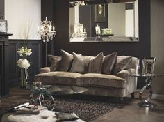 lounge ideas with mink sofas - Google Search