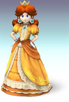 Princess Daisy....love this version of the dress