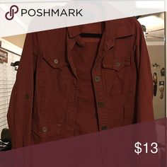 Nice red jacket! Great condition! Forever 21 Jackets & Coats