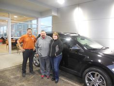 Matt Williams and the rest of us here at Court Street Ford would like to say congratulations to Brian and Misty Yuska of Bourbonnais on the purchase of their 2013 Ford Edge.  Thank you for your business!