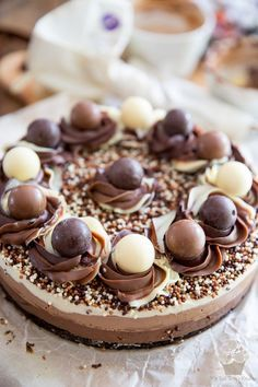Triple Chocolate No-Bake Cheesecake by My Evil Twin's Kitchen   Recipe and step-by-step instructions on eviltwin.kitchen
