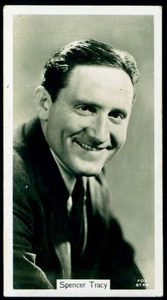 Cigarette Card - Spencer Tracy