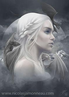 Daenerys by Nicolas Jamonneau