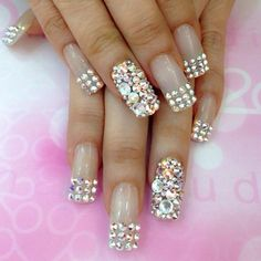 french nails NailArtCafe.com featuring polyvore beauty products nail care nail treatments nails makeup nail polish beauty