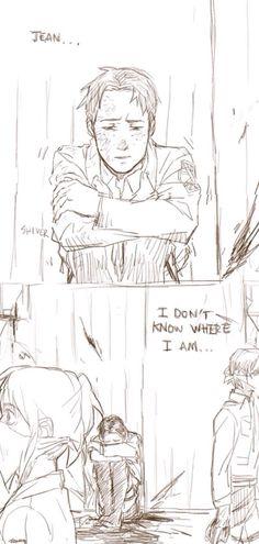 Someone help Marco Attack On Titan Jean, Attack On Titan Ships, Attack On Titan Anime, Sad Anime, Me Me Me Anime, Manga Anime, Anime Art, Eren X Mikasa, Armin