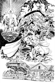 [Artwork] Superboy-Prime, by Jerry Ordway: DCcomics Comic Book Publishers, Comic Books, Superboy Prime, New Twitter, Deathstroke, Community Events, Nightwing, Gotham