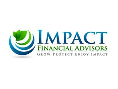 Impact Financial Advisors logo design by Start your own logo design contest and get amazing custom logos submitted by our logo designers from all over the world. Financial Logo, Finance, Logo Design, How To Plan, Motivation, Logo Ideas, Logos, Business, Inspiration