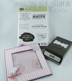IN {K} SPIRE_me Challenge # 296 - colorful mixed of the new Stampin up catalog - pink, pink & everything glitters